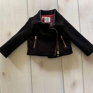 girls 18 month genuine kids OshKosh velvet jacket